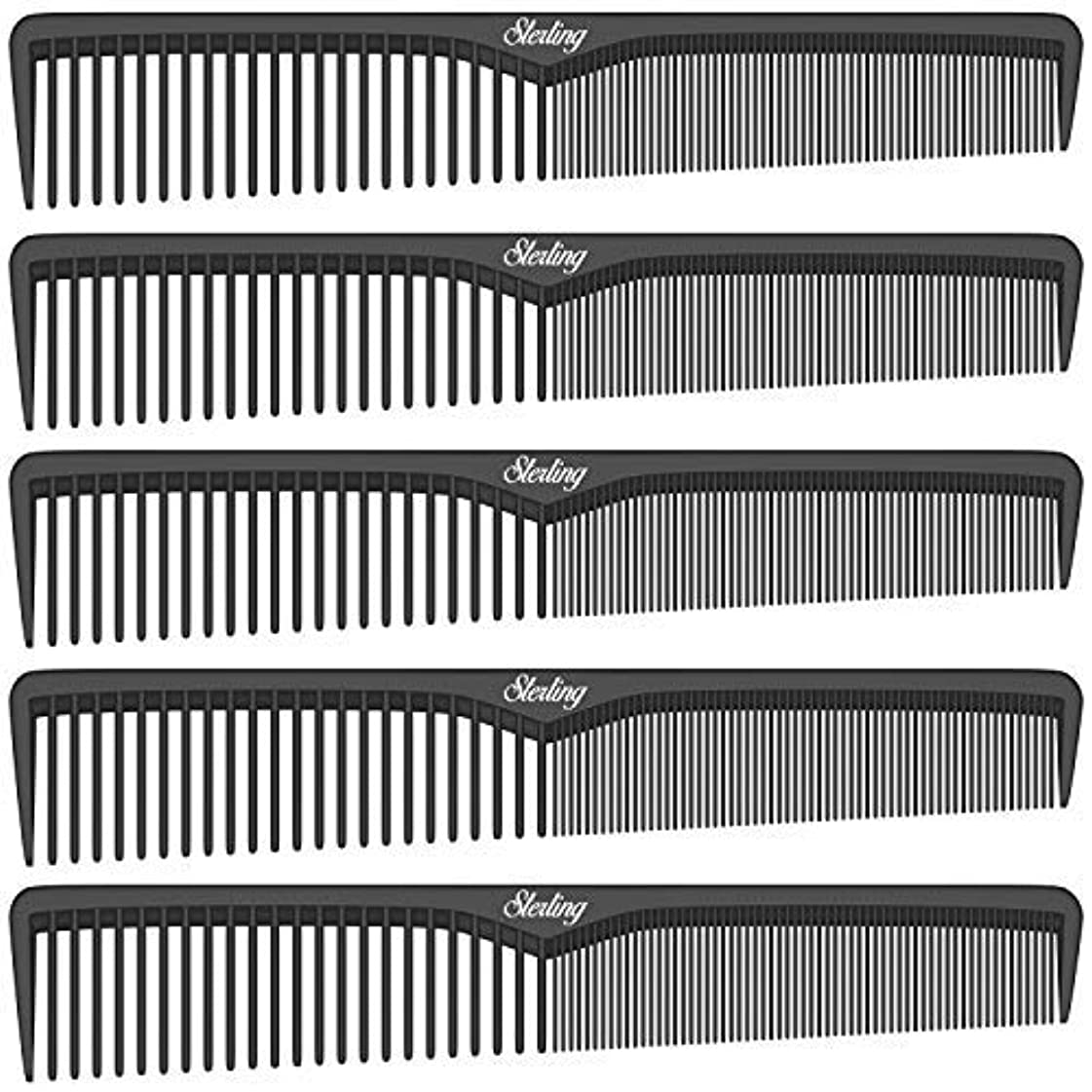 暴動八百屋緑Sterling Beauty Tools Styling Combs, Professional 7
