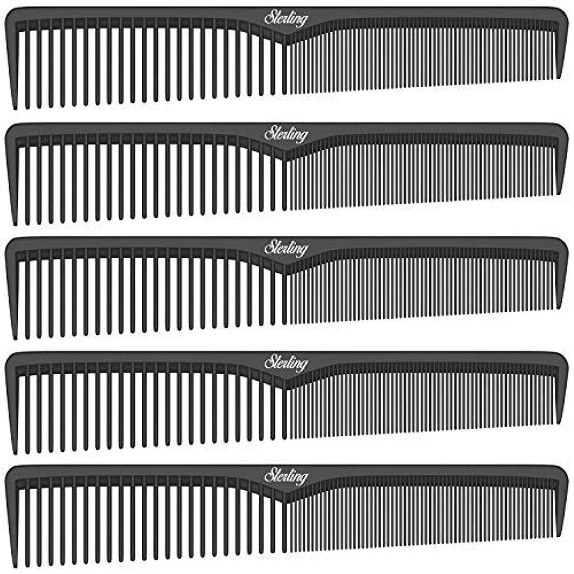 フォーム選出する排除Sterling Beauty Tools Styling Combs, Professional 7