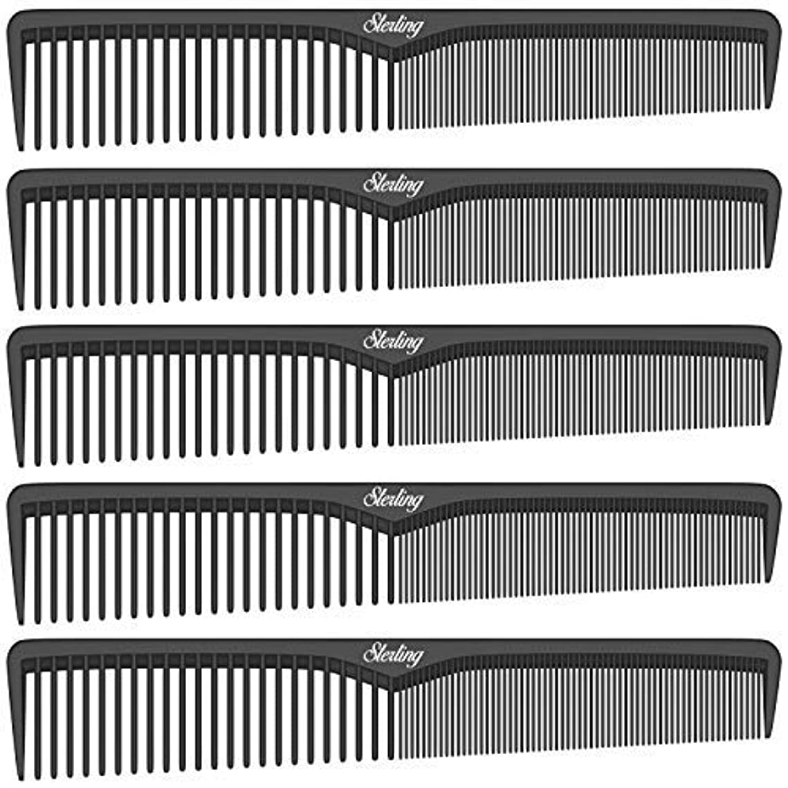 硬いアンケート火山学者Sterling Beauty Tools Styling Combs, Professional 7