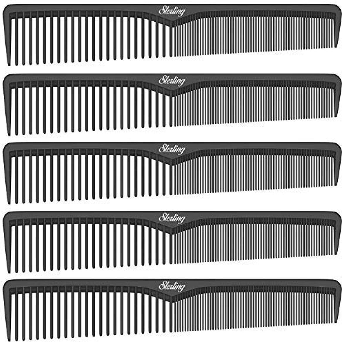 風が強いメディック手当Sterling Beauty Tools Styling Combs, Professional 7