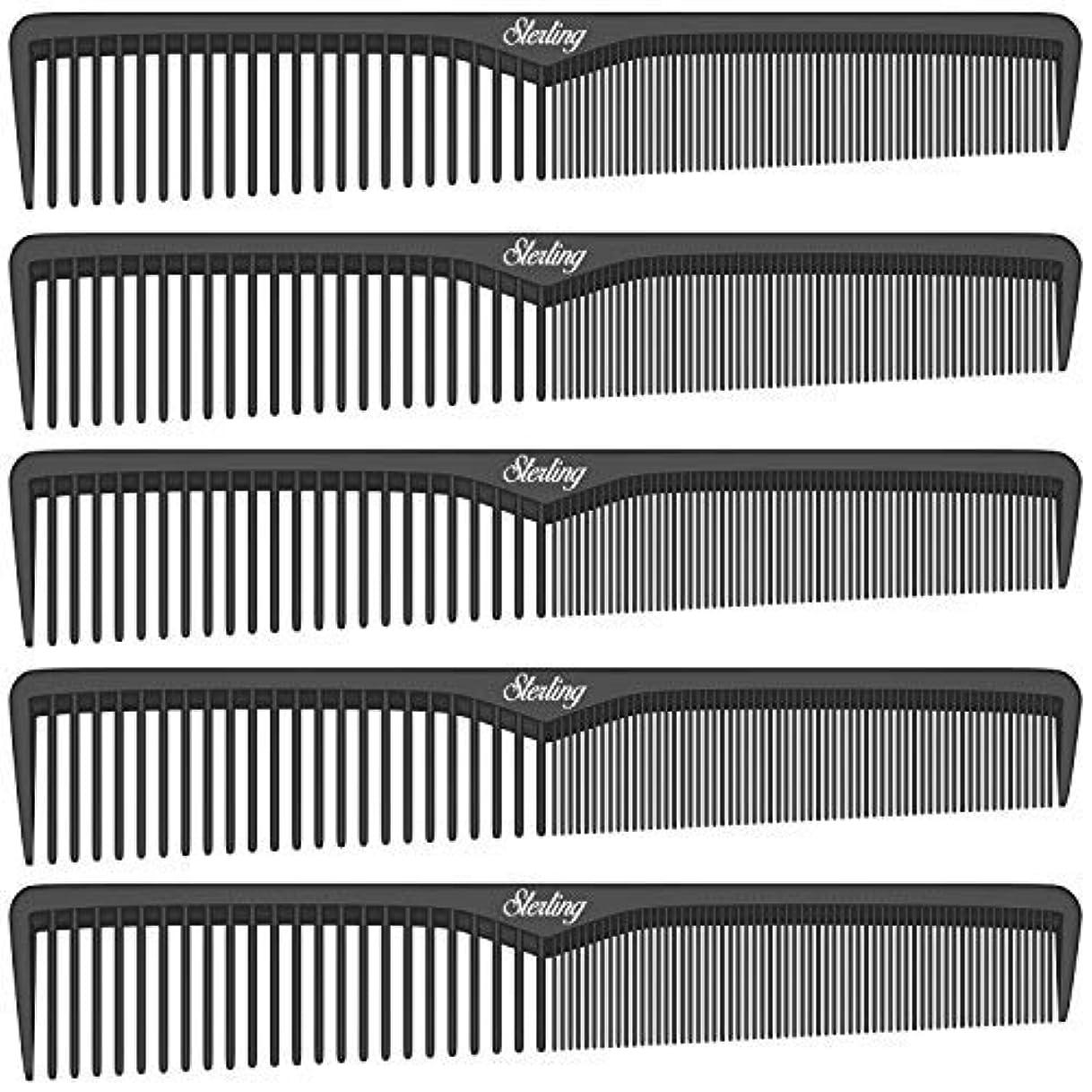 カルシウムカルシウムオンスSterling Beauty Tools Styling Combs, Professional 7