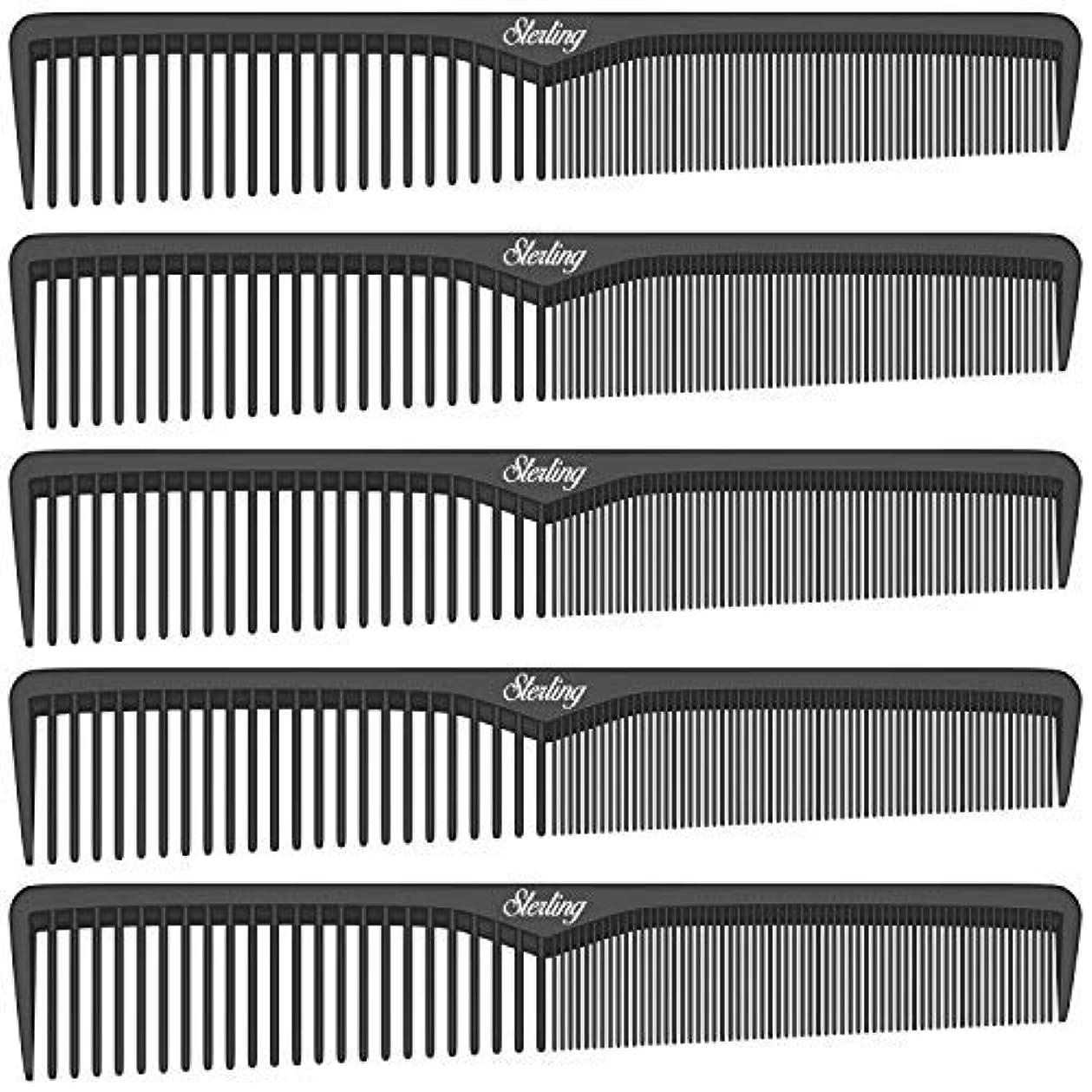 地下鉄スペースジョージバーナードSterling Beauty Tools Styling Combs, Professional 7