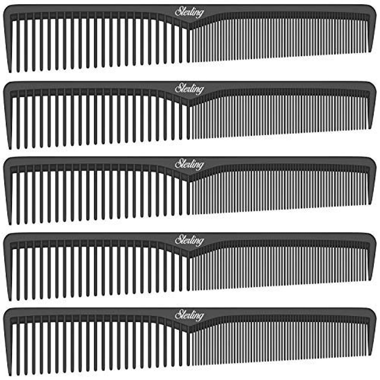 時制仕事ほかにSterling Beauty Tools Styling Combs, Professional 7