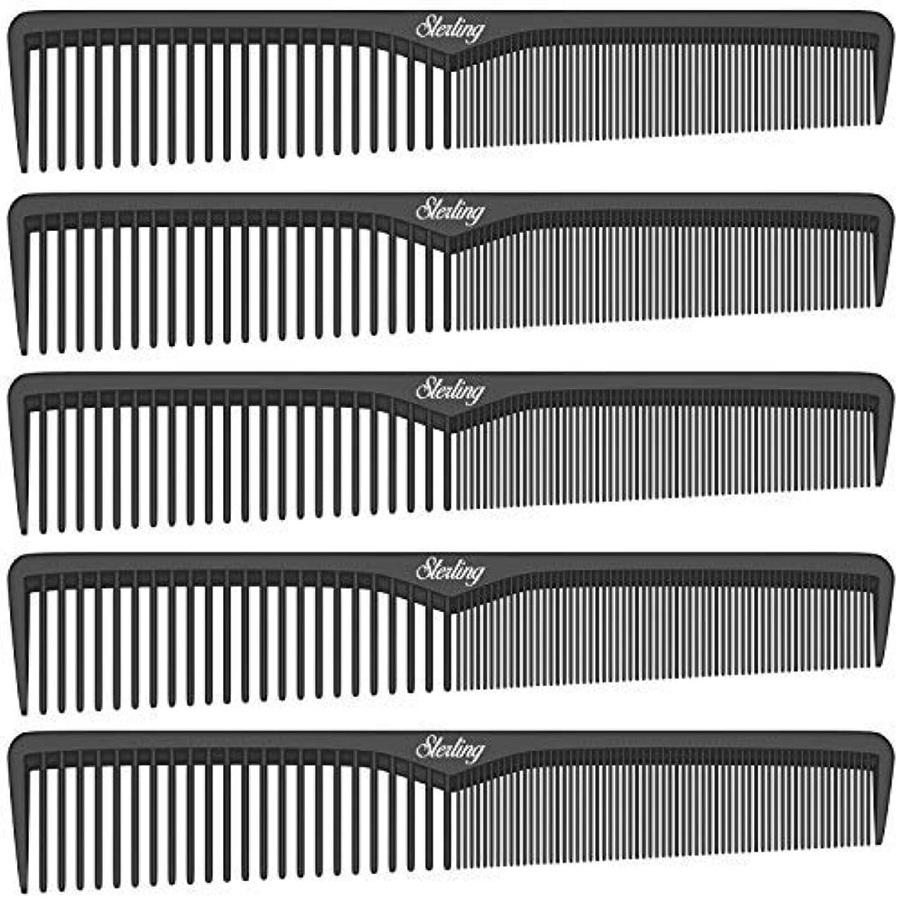 ことわざ甲虫マングルSterling Beauty Tools Styling Combs, Professional 7