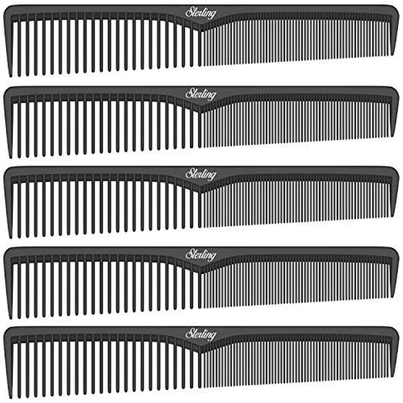 アデレード母性タイプライターSterling Beauty Tools Styling Combs, Professional 7