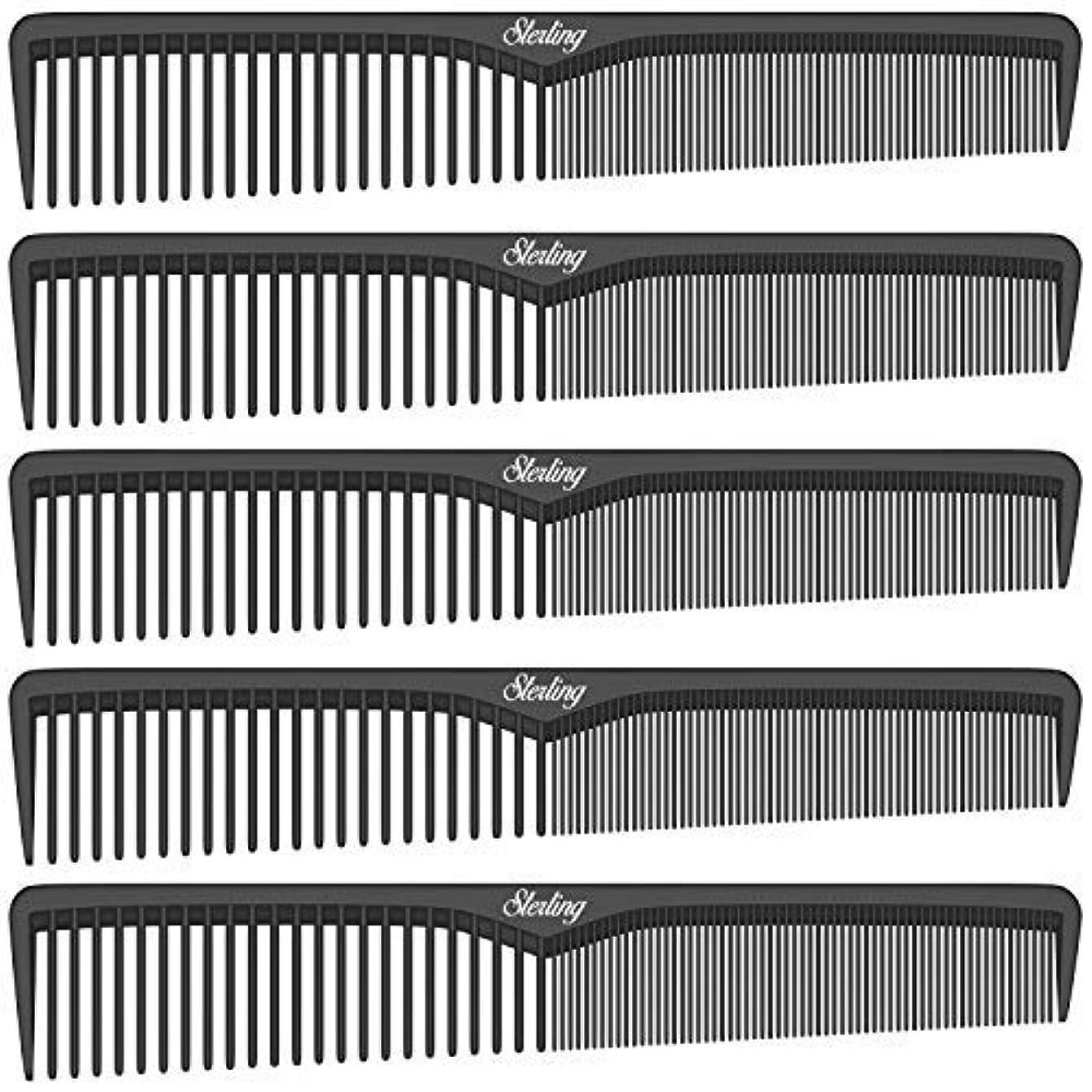 テーマ受け入れる進むSterling Beauty Tools Styling Combs, Professional 7