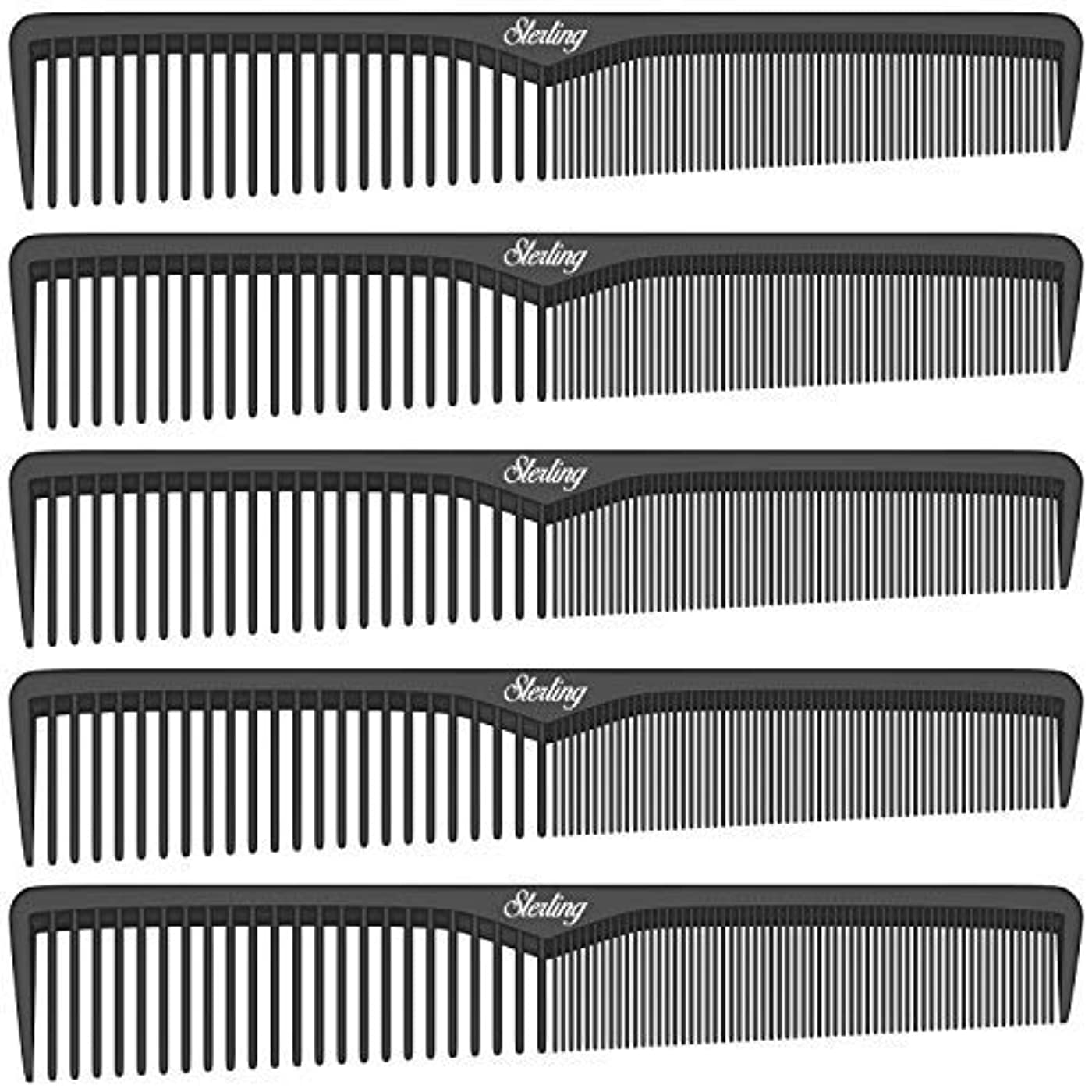 時折投げ捨てるラウズSterling Beauty Tools Styling Combs, Professional 7