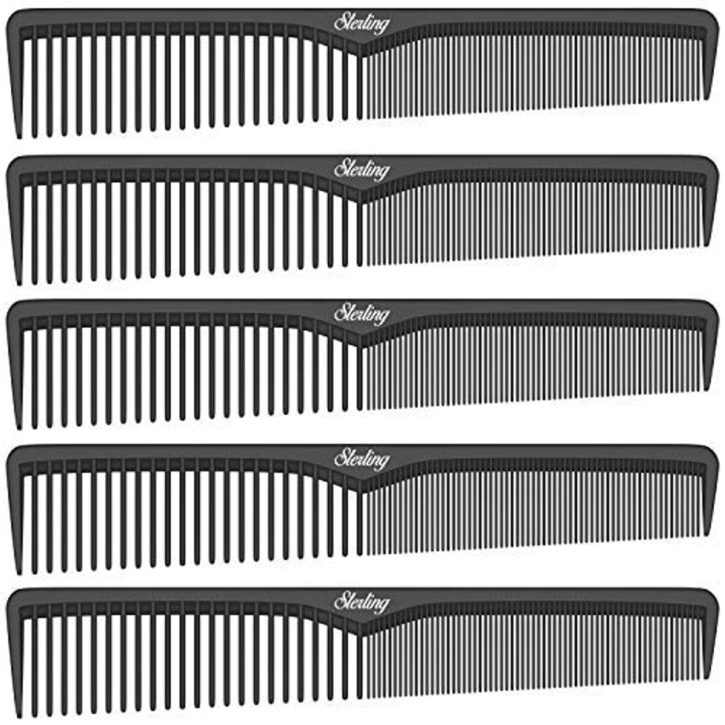 Sterling Beauty Tools Styling Combs, Professional 7
