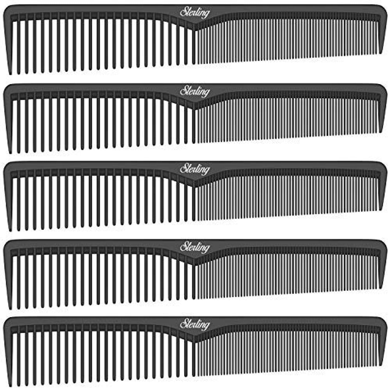 ウミウシ劇的支配的Sterling Beauty Tools Styling Combs, Professional 7