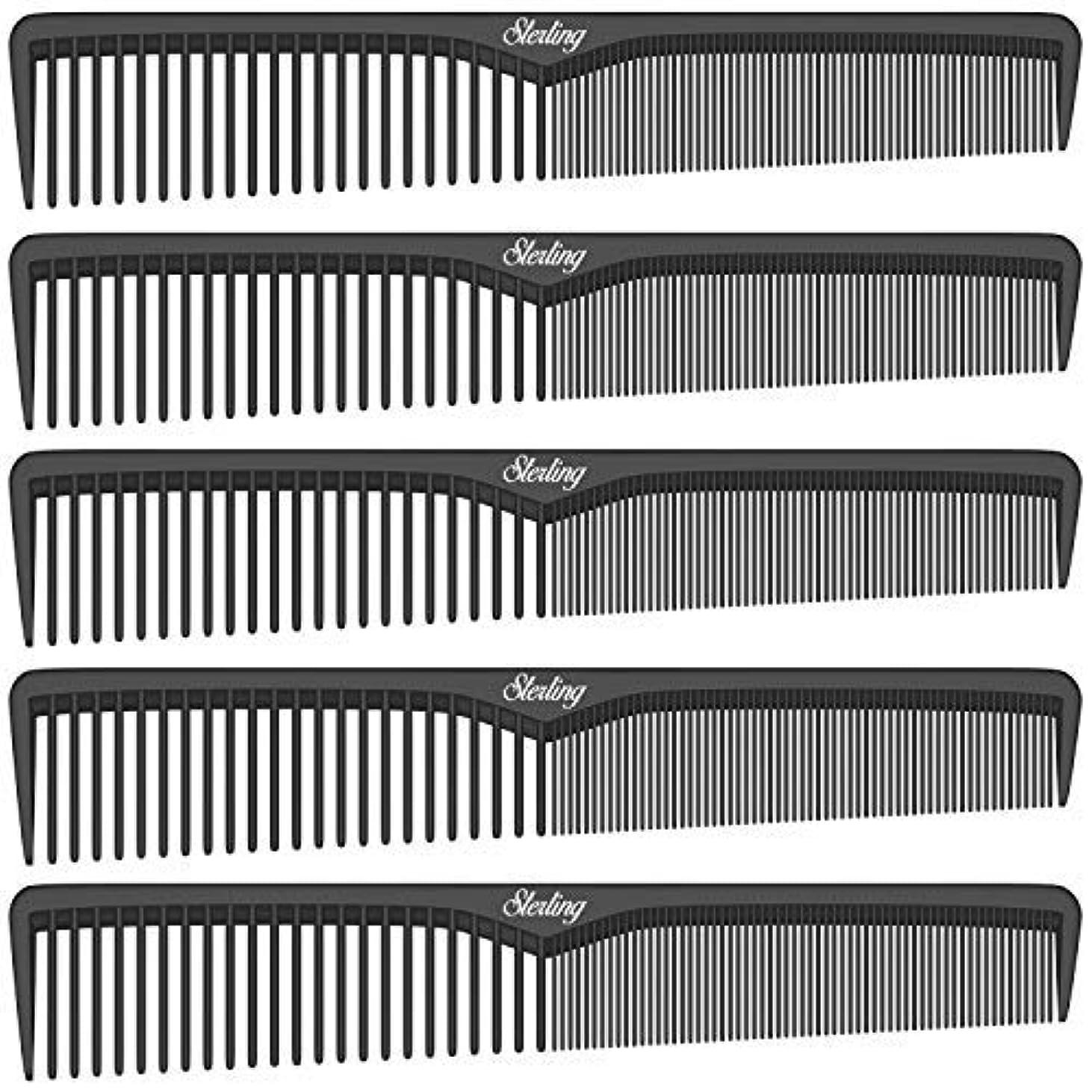その後ルール削るSterling Beauty Tools Styling Combs, Professional 7