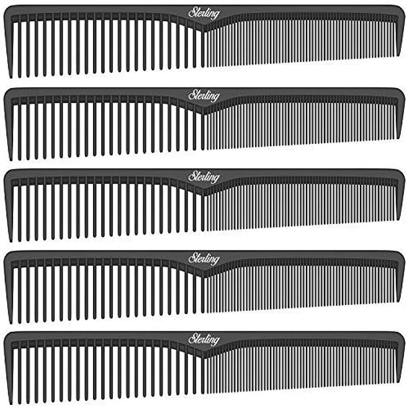 財産収穫熱望するSterling Beauty Tools Styling Combs, Professional 7