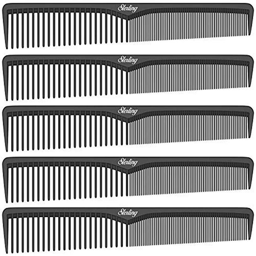 失業薬局ベイビーSterling Beauty Tools Styling Combs, Professional 7