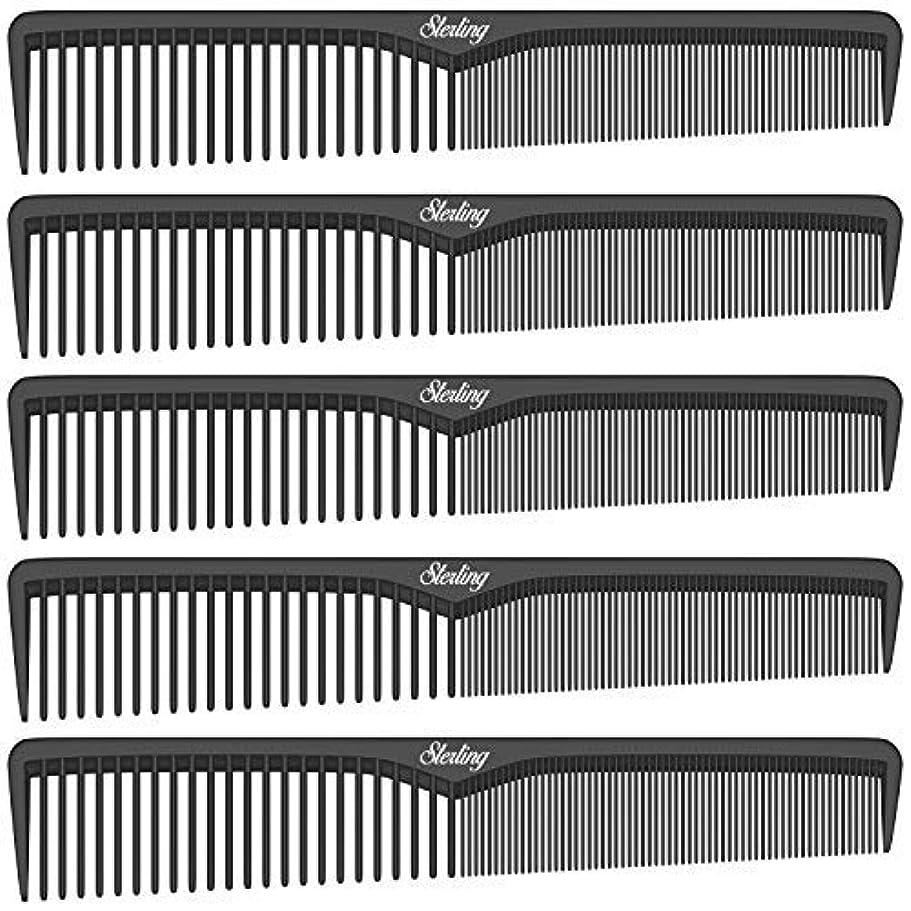 ゴミ司法オープニングSterling Beauty Tools Styling Combs, Professional 7