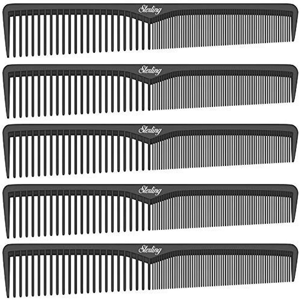 キャンバスやる早熟Sterling Beauty Tools Styling Combs, Professional 7