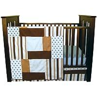 Trend Lab Max 3ピース ベビーベッド寝具セット