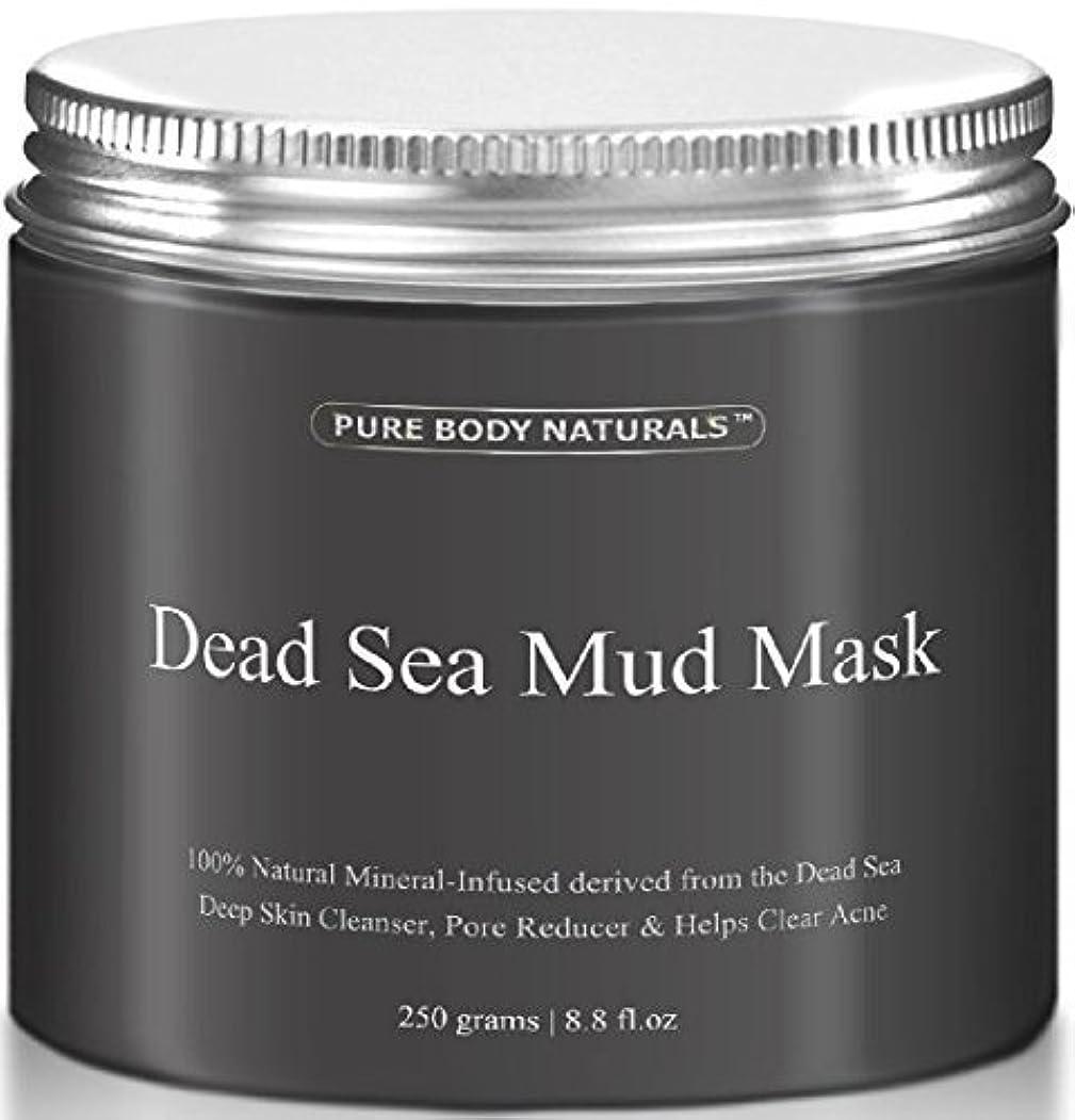 狂人分析するゴミDead Sea Mud Mask 死海の泥マスク 250g [並行輸入品]