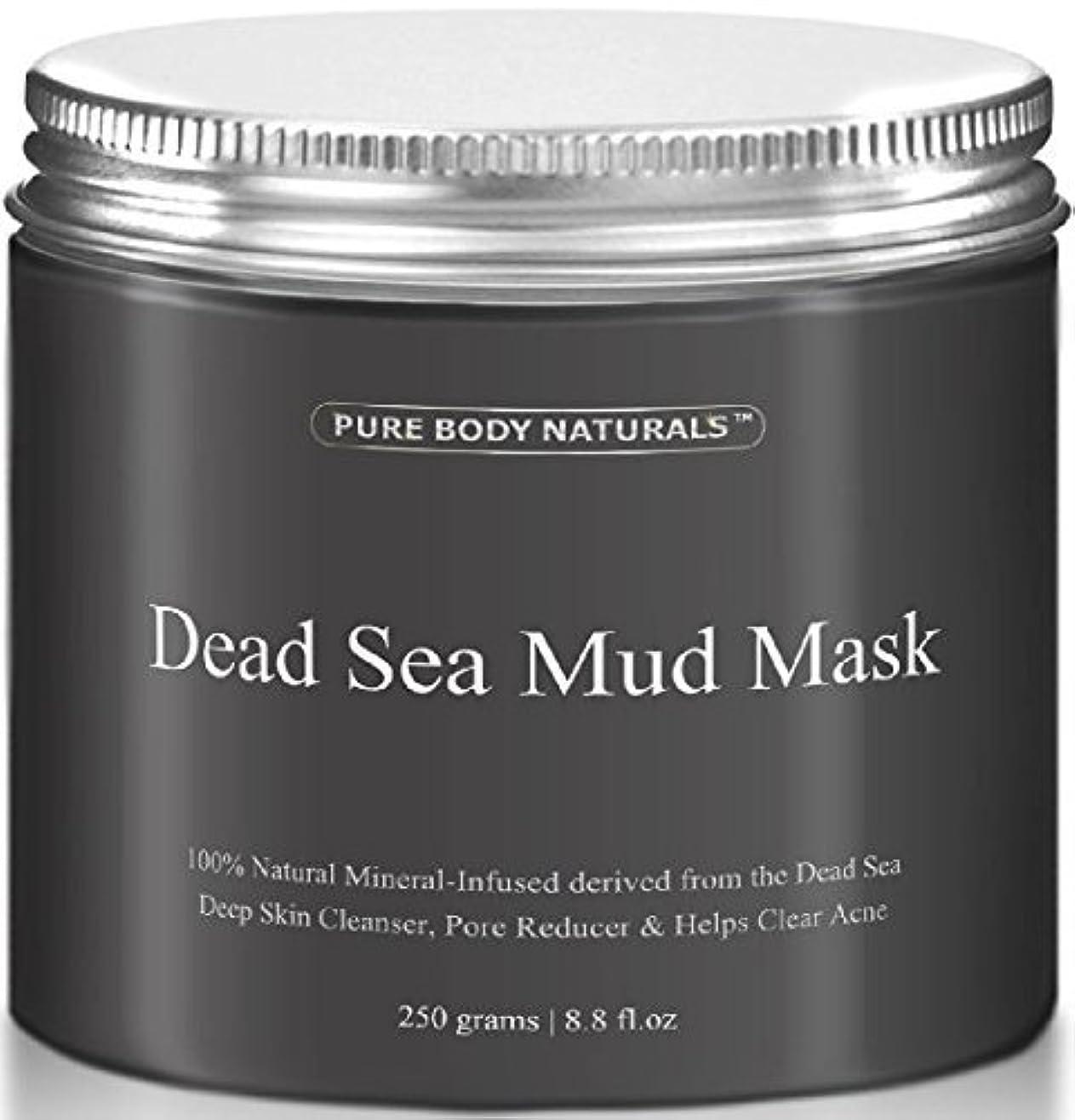 続ける火山学いたずらDead Sea Mud Mask 死海の泥マスク 250g [並行輸入品]