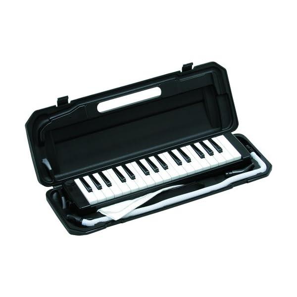 KC 鍵盤ハーモニカ ブラック 32鍵 P30...の紹介画像2