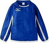 (ミズノ)MIZUNO フットボール ピステシャツジュニア P2ME5605 24 ブルー×グレー 140