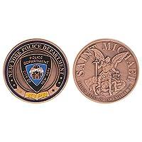 Rabortw 記念コイン アメリカの警察 セントマイケル警察、ニューヨーク アートギフトのコレクション お土産コイン 記念の意味 神聖な 懐かしい コレクション、ギフトに最適
