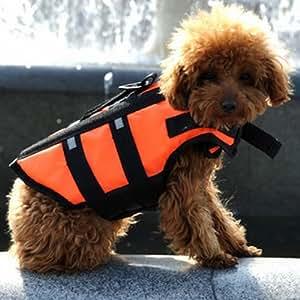 ペット 犬 ライフジャケット フローティングベスト 安全 海 川 救命胴衣 Sサイズ 小型犬