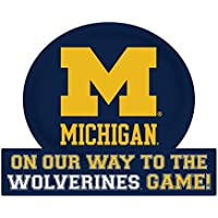 Michigan Wolverinesジャンボon our wayマグネット