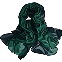 JL 上質 ストール シルク100% ショール レディース 絹のスカーフ 大判 薄手 マフラー 冷房対策 日焼け止め 海辺 旅行 通勤用