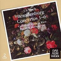 Bach J.S: Brandenburg Ctos Nos 1 - 6 by J. S. BACH (2009-10-26)