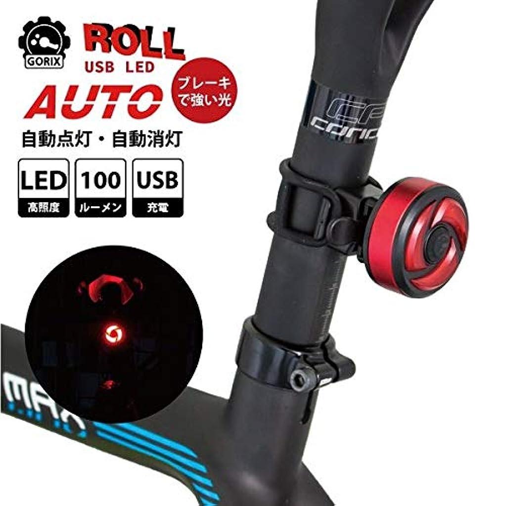 会議割り当て南東自転車LEDライト AUTO 自動点灯 消灯 LED 明るいライト 100ルーメン USB充電 テールライト リアライト