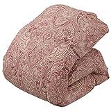 ナイスデイ 掛けふとん 柄ピンク シングル (150×210cm) 羽毛布団ホワイトダックダウン90%増量エクセルゴールド日本製 5505H101