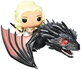 Funko - Figurine Game of Thrones - Drogon et Daenerys Pop Rides 15cm - 0849803072353