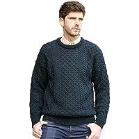 West End Knitwear 100% Pure New Wool Irish Springweight Sweater
