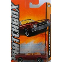Matchbox MBX 2012 Old Town Series Chevelle SS Convertible - #67 of 120