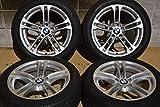 【中古】【タイヤ付きホイール 18インチ】BMW F11 5シリーズ Mスポーツ 後期 純正 F10 613M 18in【I0105Z85H-HP4】