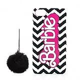 LEPLUS iPhone 7 Plus用 アメコミプリントハードケース(ブラック) 「Barbie Design」 LP-BI7PHSACBK