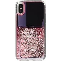 [アイフォリア]Amazon公式 正規品 iPhone X対応 Nailpolish Lovely Rosa for iPhone X 14578