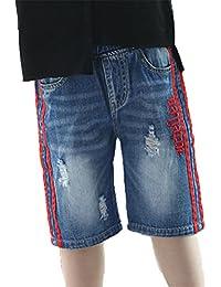 6660ad3ecbe08  美しいです  夏 デニムパンツ 子供服 ジーンズ 男の子 ズボン ショーツ ショートパンツ カジュアル 通学 ファンション ボトムズ キッズ  かっこいい カジュアルパンツ…