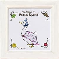 ユーパワー PETER RABBIT ピーターラビット ミニアート ジマイマ ホワイト PF-00555