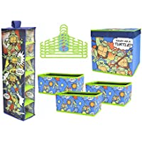 Nickelodeon Teenage Mutant Ninja Turtle Closet Organization Set ( 10ピース)