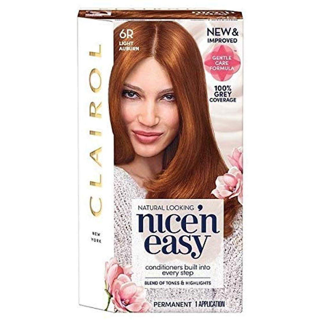 汚い窒息させるピグマリオン[Nice'n Easy] Nice'N簡単6R光オーバーン - Nice'n Easy 6R Light Auburn [並行輸入品]