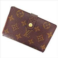 ルイヴィトン Louis Vuitton がま口財布 二つ折り ユニセックス ポルトモネ ビエヴィエノワ M61663 モノグラム 中古 Y645