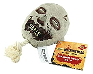 Lootcrate独占AMC The Walking DeadペットコレクションWalker Head Squeak Chew Dog Toy