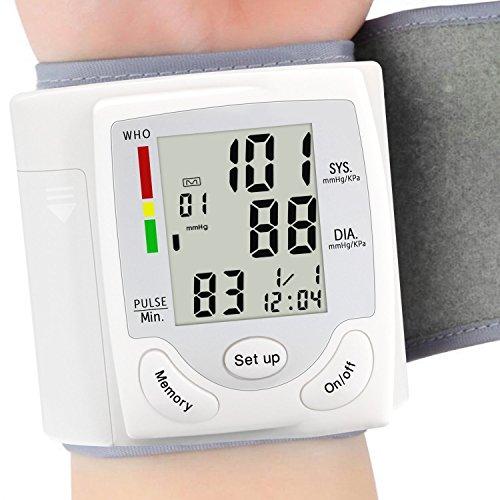 血圧モニター自動血圧 - 大画面 - 快適なカフと高速読書術機ポータブルハートビートレートパルスメー...