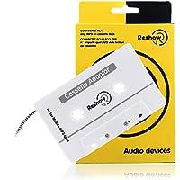車載Reshow旅行テープアダプタ―標準車載のカセットプレーヤーのiPod、スマートフォン、MP3プレーヤーやウォークマン―古い/ヴィンテージの音楽コンバータ