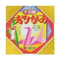 (30セット) トーヨー 千羽鶴用折紙 5×5cm
