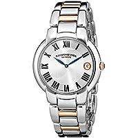 """Raymond Weil Women's 5235-S5-01659""""Jasmine"""" Stainless Steel Watch with Two-Tone Link Bracelet"""