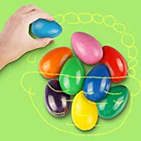 Crayons 幼児用 パームグリップクレヨンセット 9色 無毒クレヨン 洗濯可能 ペイントクレヨン 積み重ね可能 おもちゃ 幼児 赤ちゃん 子供 男の子 女の子 (エッグシェイプ)
