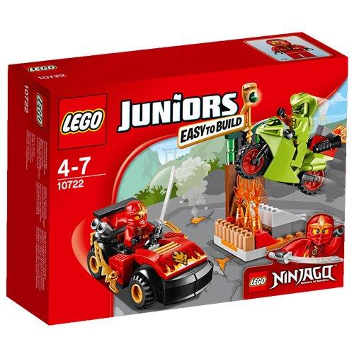 [해외] 레고 (LEGO) 쥬니어 닌자 go-cart VS 뱀 뱀 오토바이 10722-10722 (2016-01-15)