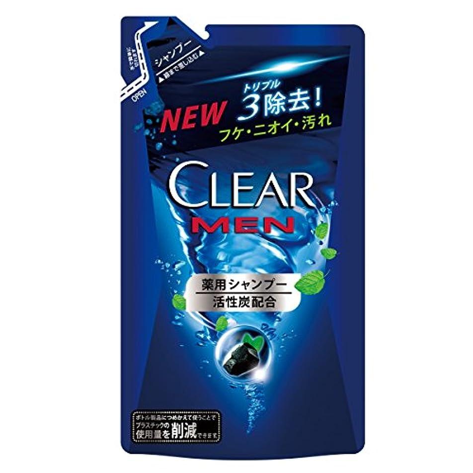 破壊的プラスチック買う[医薬部外品] クリアフォーメン クリーンスカルプ 薬用シャンプー つめかえ用 280g