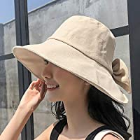 BIGHAS UV Protection Sun Hat for Women Wide Brim Outdoor Summer Safari Hat